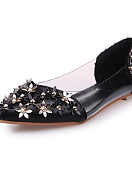 Women's Heels Spring Summer Fall Comfort Glitter Casual Stiletto Heel Others Black Pink Red Silver Walking