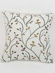 1 pcs Chenille Pillow CaseFloral Country