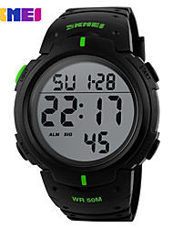 SKMEI Multi-Function Electronic Luminous waterproof Outdoor Sports Running Watch Korea LED Current Student Table