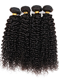 Natural Black Brazilian Curly Weave 3 Bundles Hair Weft Brazilian Virgin Human Hair Extensions 300g/Lot