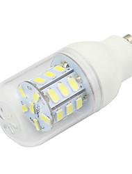 GU10 4W Led Corn Lighting 5730SMD 27LEDs DC AC12V - 24V Energy Saving Light Cool / Warm White (1 Piece)
