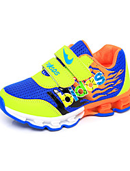 Girl's Athletic Shoes Spring Fall Winter Comfort PU Casual Low Heel Lace-up Blue Red Other