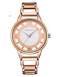 Жен. Нарядные часы Модные часы Наручные часы Кварцевый Японский кварц Защита от влаги Нержавеющая сталь Группа Элегантные часы