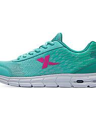 X-tep® Sneakers Women's Wearproof Full-grain Leather Perforated EVA Running/Jogging