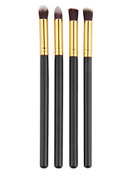 4Pcs/Set Professional Eye Brushes Set Eyeshadow Foundation Mascara Blending Pencil Brush Makeup Brushes Make Up Tool Cosmetic
