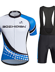 AOZHIDIAN Summer Cycling Jersey Short Sleeves BIB Shorts Ropa Ciclismo Cycling Clothing Suits #AZD013