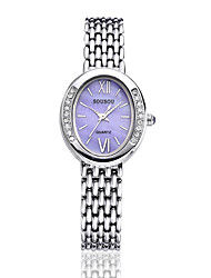 Women's Fashion Watch Automatic self-winding Water Resistant / Water Proof Alloy Band Casual Silver Gold