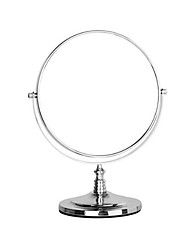 8 Inch Desktop Makeup Mirror 360  Rotating Three Times A Magnifying Glass Desktop Makeup Mirror
