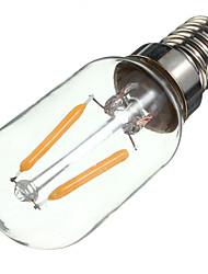 2W E14 Ampoules à Filament LED S14 2 COB 200 lm Blanc Chaud Décorative AC 100-240 V 1 pièce