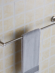 Creative Wall Mounted Single Towel Bar Stainless Steel Bathroom Bath Towel Rod