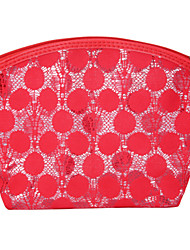 Cosmetic Bag Makeup Storage Lace Ellipse PU