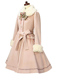 Steampunk®Coat Gothic Lolita/Classic Lolita Princess Cosplay Lolita Dress Solid Long Sleeve Lolita Coat For Women