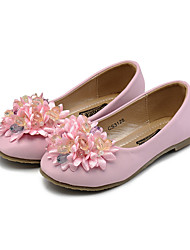 Girl's Flats Spring Fall Comfort Flower Girl Shoes Leatherette Wedding Dress Casual Party & Evening Flat HeelRhinestone Crystal Imitation