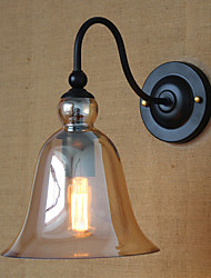 American Rural Countryside Minimalist Living Room Hallway Decorated Glass Wall Sconce