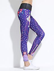 Femme A Motifs Legging,Polyester Moyen
