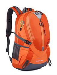 40 L Rucksack Camping & Wandern Draußen Wasserdicht Grün Rot Schwarz Orange Oxford Others