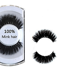 1 Pairs Of High-Grade Mink False Eyelash Wool False Eyelash Thick Lashes