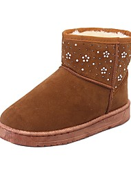 Women's Shoes Libo New Style Hot Sale Casual / Outdoors Comfort Black / Brown / Gray Fashion Snow Boots