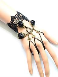 Bijoux Accessoires de Lolita Gothique Doux Lolita Classique/Traditionnelle Punk Wa Marin Bracelet/Bracelet Coloré Boucle LolitaRétro