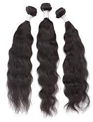 New  6A Grade 10'' 12'' 14'' 3Pcs/lot 300g 100g/pc Unprocessed Brazilian Virgin Human Hair Weave Natural Wave Remy  Human Hair High Quality