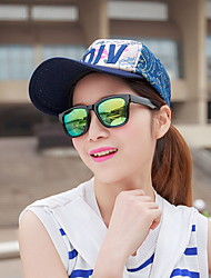 Spring And Summer Women 'S Baseball Cap Fashion Letters MDIV Silver Cap Net Shade Cap