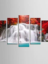 Canvas Set Famous Landscape Modern Mediterranean,Five Panels Canvas Any Shape Print Wall Decor For Home Decoration