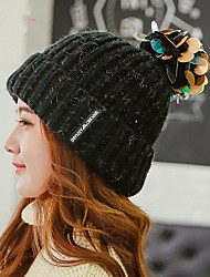 Fashion New Winter Sequin Ball Single Cap Hat Knitted Cap Hat Head Warm Outdoors