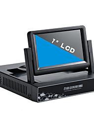 7inch 4 canales 960p / 720p con el hdmi y p2p lcd nvr
