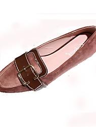 Feminino-Rasos-Conforto Solados com Luzes-Rasteiro-Preto Rosa-Pele-Casual