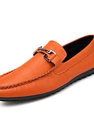 Summer New Pattern Leather Doug Shoe Male Casual Shoes Le Fu Male England Drive Shoe Leather Shoes Tide