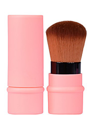1 Blush Brush Concealer Brush Powder Brush Foundation Brush Synthetic Hair Professional Plastic Face UBUB
