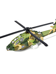 Planes & Helicopters Push & Pull Toys 1:10 Metal Green