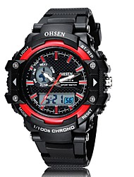 OHSEN Sports Leisure Multi-Function Digital Display Movement Waterproof Watch