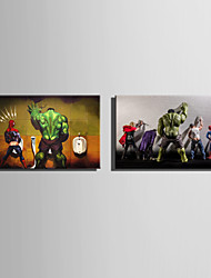 E-HOME Stretched Canvas Art Heroes of Humor Decoration Painting One Pcs