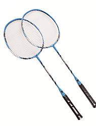 Raquettes de badminton(Bleu,Alliage d'aluminium) -Durable