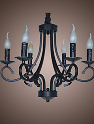 Chandelier ,  Modern/Contemporary Traditional/Classic Rustic/Lodge Vintage Country Others Feature for Mini Style Candle Style MetalLiving