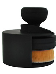 1 Foundation Brush Synthetic Hair Plastic Face MAKE-UP FOR YOU