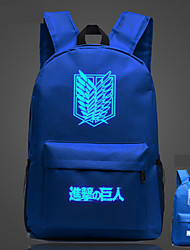 Sports Casual Outdoor Backpack Unisex Polyester Beige Blue Green Red Black