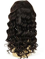 22inch solta onda u parte peruca 1 * 4inch parte direita upart cabelo humano perucas cor natural 130% a densidade do cabelo brasileiro u