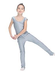 Ballet Unitards Women's Children's Training Nylon Lycra 1 Piece Sleeveless Leotard
