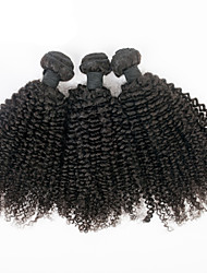 Tangle Free 3pcs/lot Brazilian Kinky Curly Virgin Hair Mixed Length 8inch -30inch Afro Curly For Black Woman