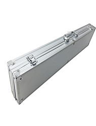 Hardware Tool Box Color Silver Acrylic Aluminum Alloy Receive Fishing Gear.