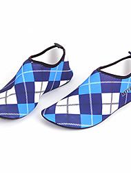 Обувь для плавания Не требуется никаких инструментов Плавание Подводное плавание и снорклинг Pезина Лайкра Синий серебристый Красный