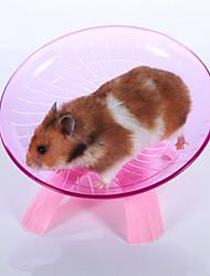 Грызуны Колесо для упражнений Пластик Синий Розовый