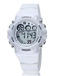 OHSEN Mr St Sports Leisure Digital Multi-Function Digital Display Movement  Waterproof Watch