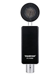 TAKSTARPC PC-K800 Wired  high quality stereo condenser microphone with holder clip for chatting karaoke portable PC