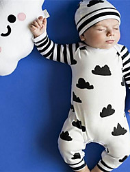Baby Casual/Daily Print One-Pieces,Cotton Spring Fall Long Sleeve