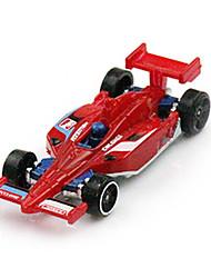 Машинки Формулы 1 Игрушки 1:64 Металл Пластик Серебристый