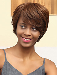 New Fluffy Simple Prevailing Human Hair Wig