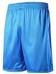menns korte ermer basketball løpebukse / bukser / overtrekksbukse genser baggy shorts pustende svettetransporterende comfortablegreen røde